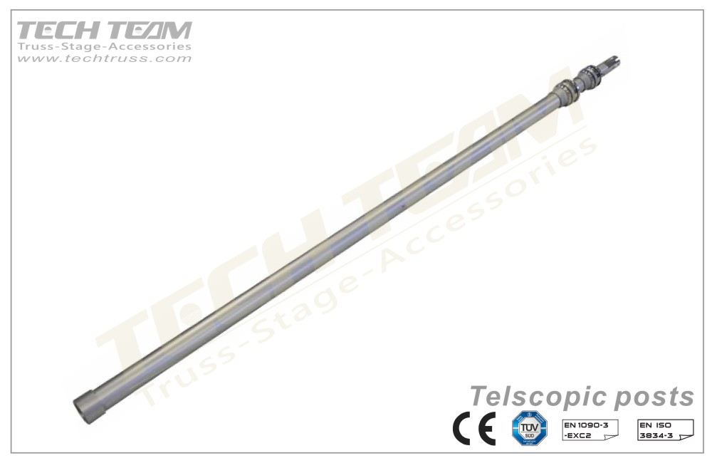 PDT0915 Telescopic posts (Upright)
