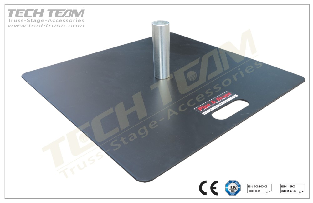 PDS6001  600x600 Base plate
