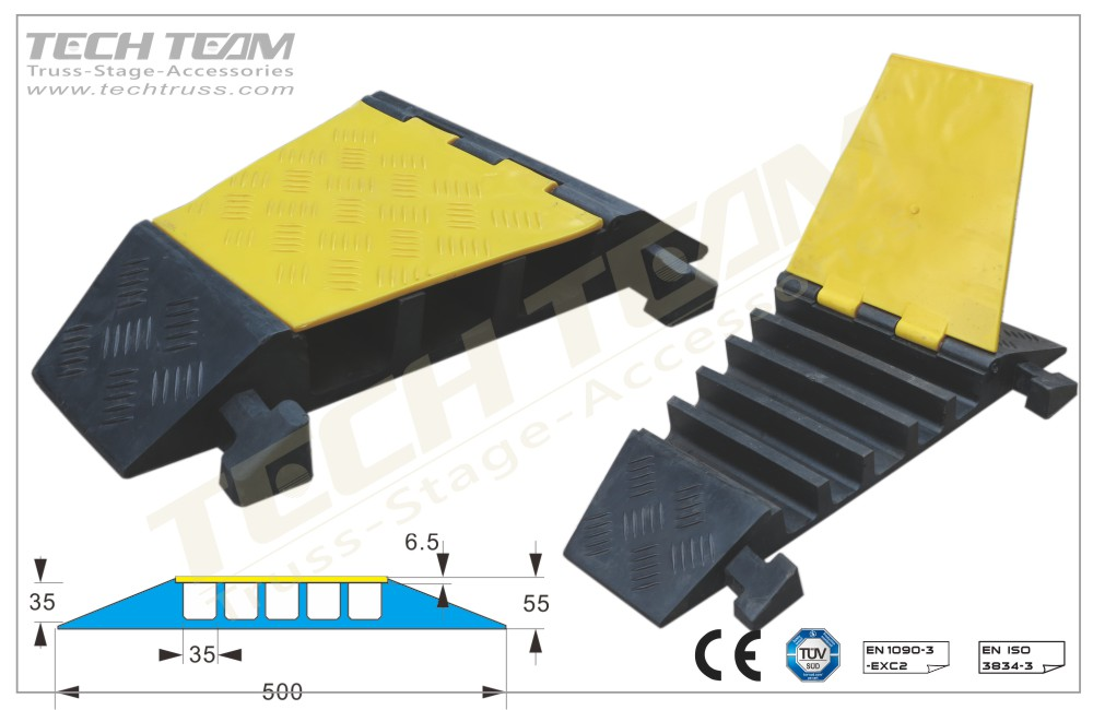 Ccrp ua ; channel cable protector º corner
