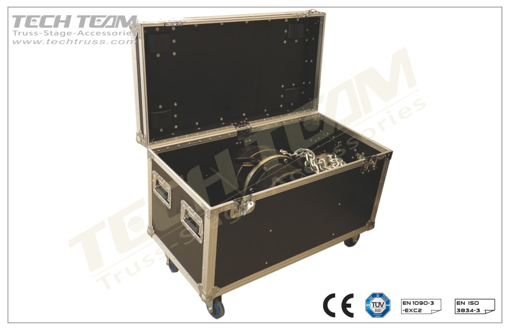 EH-FC2;Flight Case For Electric hoist 2 Ton